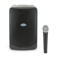 Samson XP40IW Portable PA System Including Wireless Microphone