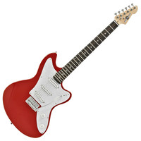 Seattle Electric Guitar by Gear4music Red