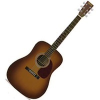Martin HD-28V Vintage Series Acoustic Guitar Ambertone