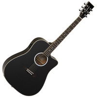 Tanglewood Evolution TW28-SLBK-CE Electro Acoustic Dreadnought Guitar