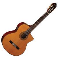 Washburn C64SCE Classical Guitar Natural