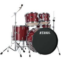 Tama Imperialstar IP50H4 20 Fusion Drum Kit Candy Apple Mist