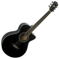 Washburn EA10 B Festival Petite Jumbo Electro Acoustic Guitar