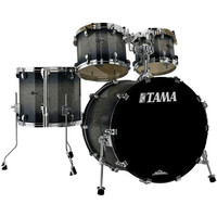 Tama Starclassic Bubinga 22in 4 Piece Shell Pack Dark Stardust Burst