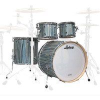 Ludwig Signet 105 TeraBeat 4Pc Shell Pack Alpine Blue