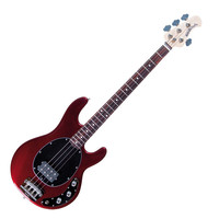 Music Man StingRay 2EQ Bass Guitar RW Candy Red with Gigbag