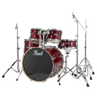 Pearl EXL Export Lacquer 22 Am. Fusion Drum Kit Natural Cherry