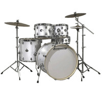 Ludwig Element Drive 5 Piece 22 Inch Drum Kit White Sparkle