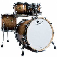 Pearl Masters Maple MCX 22 Rock Shell Pack Mocha Tamo