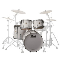Pearl Masters Premium Legend 22 Am. Fusion Shell Pack Arctic White