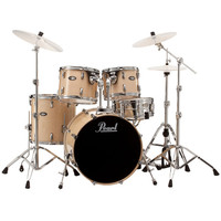 Pearl Vision Birch Lacquer VBL 20 Fusion Drum Kit Clear Birch
