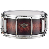 Pearl Masters Birch BCX 14 x 6.5 Snare Drum Lava Bubinga