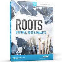 Toontrack SDX: Roots - Brushes Rods and Mallets